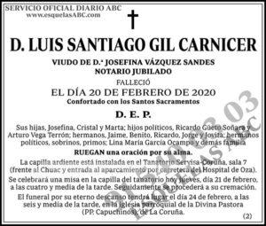 Luis Santiago Gil Carnicer