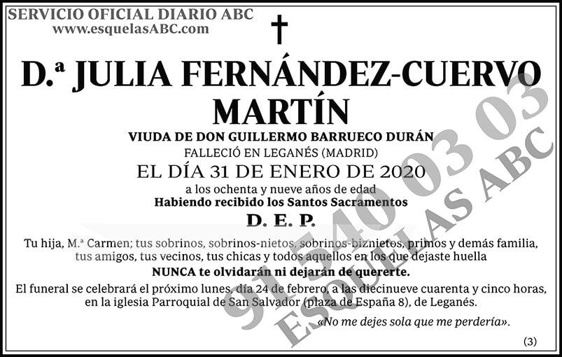 Julia Fernández-Cuervo Martín