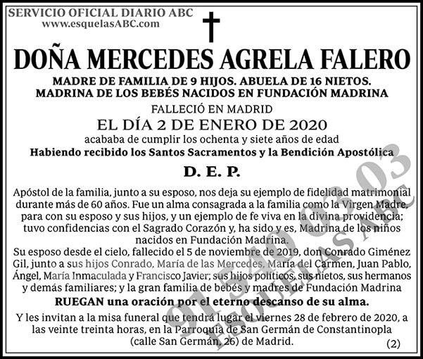 Mercedes Agrela Falero