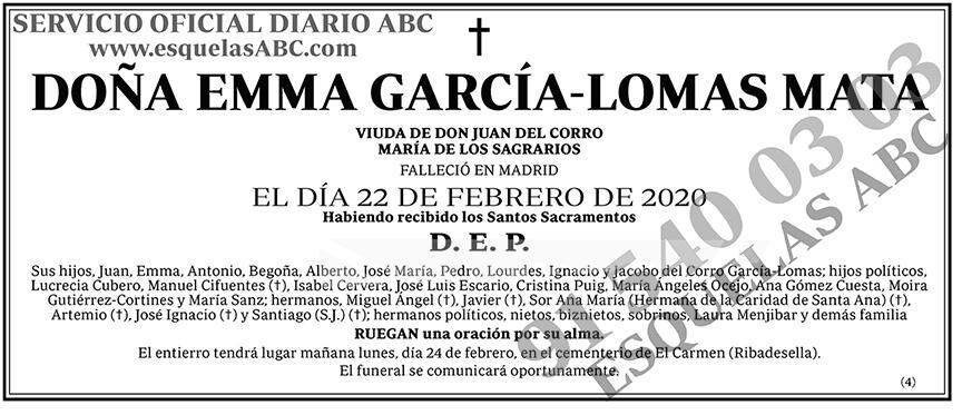 Emma García-Lomas Mata