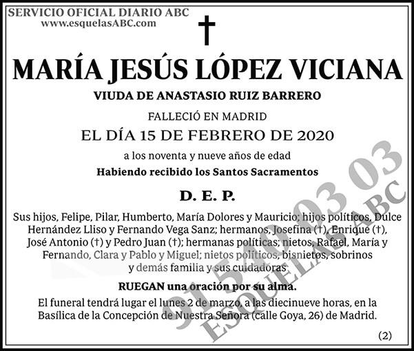 María Jesús López Viciana