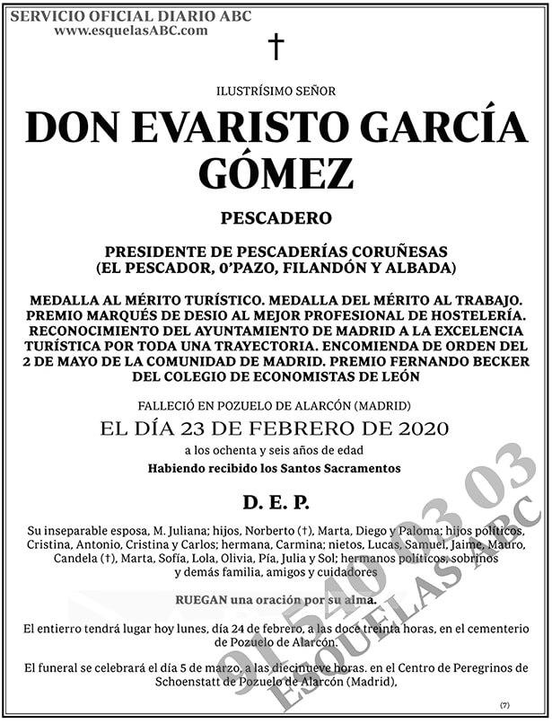 Evaristo García Gómez