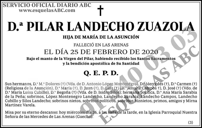Pilar Landecho Zuazola