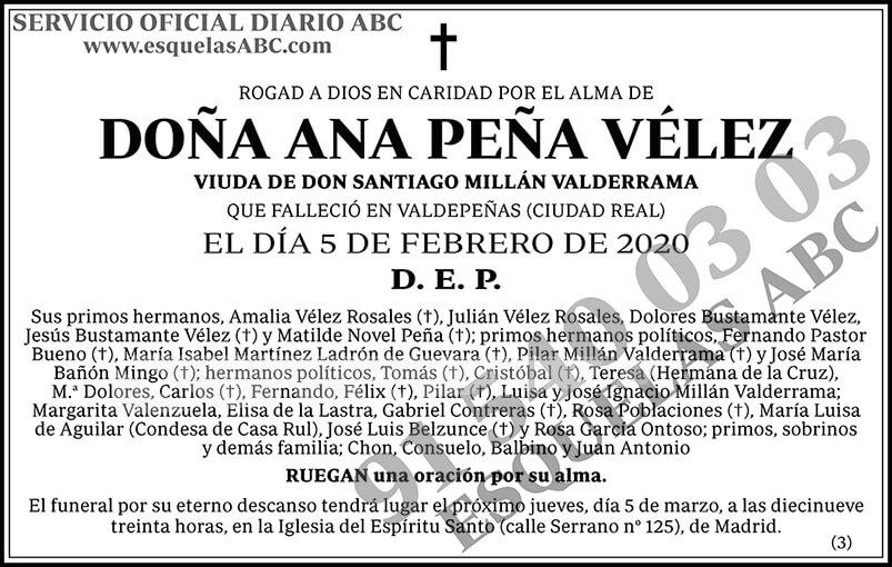 Ana Peña Vélez